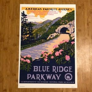 WPA Blue Ridge Parkway Poster, used for sale